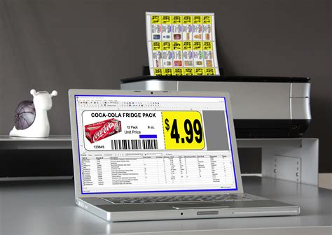 Retail Price Tags Product Labels Shelf Stickers Retail Shelf Labels Template