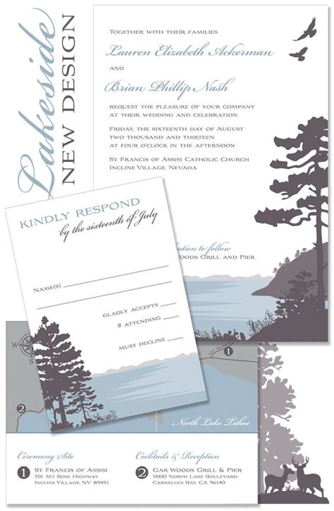 31 best images about lake invite on rehearsal dinner invitations lakes and