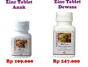 Obat Herbal Zinc obat herbal untuk anak yang susah makan terbukti efektif