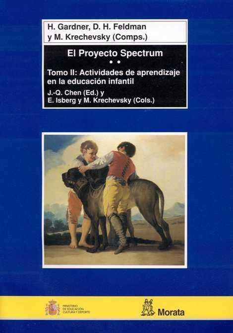 libro spectrum 5 proyecto spectrum tomo ii actividades la teora de las inteligencias mltiples en educacin