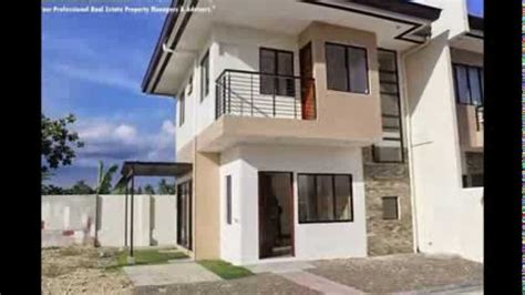 Bungalow Style House Plans In The Philippines 3 bedroom duplex house and lot in lapulapu cebu