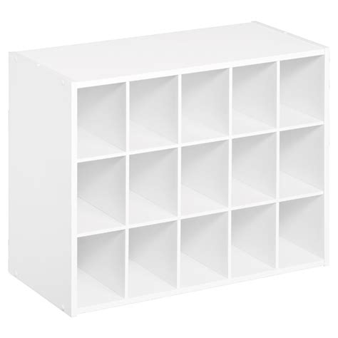 Rona Closet Organizer by Quot Cubeicals Quot 15 Cube Organizer 20 Quot X 24 Quot White Rona
