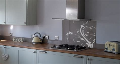 kitchen glass splashbacks interior design