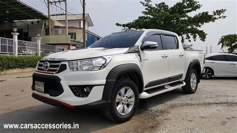 Accessories For Toyota Hilux Toyota Hilux Revo Accessories Hilux Revo Modified