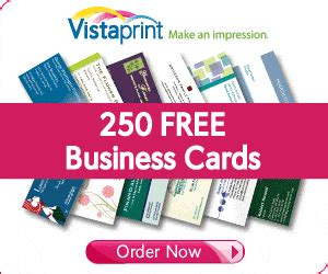 free vista business cards r b wright outdoors thumbs up to vistaprint