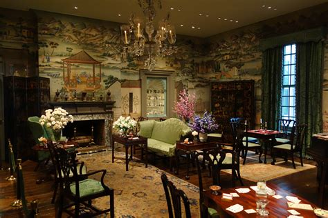 Antique Dining Rooms file chinese room wallpaper from china 1775 1800