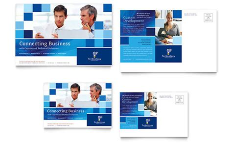 Business Consulting Postcard Templates Word Publisher Professional Postcard Templates