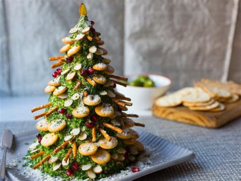 christmas tree saver recipe cheese and crackers tree recipe food network kitchen food network