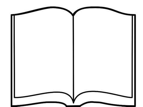 book shape template open book outline clipart clipart panda free clipart