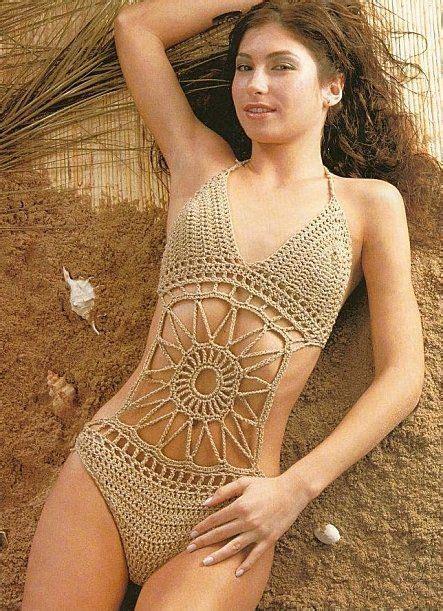 Crochet Swimsuit tons of crochet beachwear it s not in but has