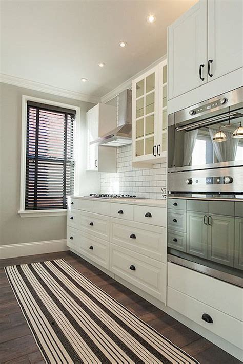 white kitchen bronze hardware bespoke only gorgeous kitchen with white ikea cabinets