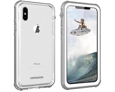 best iphone xs waterproof cases protect your premium device from unfriendly conditions