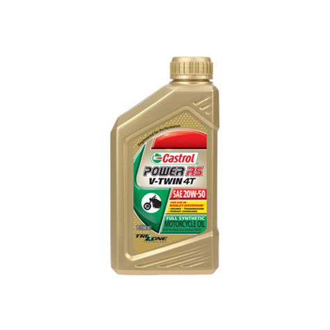 $14.50 Castrol Power RS V Twin 4T Full Synthetic Oil #216567