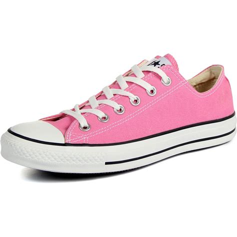 pink converse shoes converse chuck all shoes m9007 low top in pink