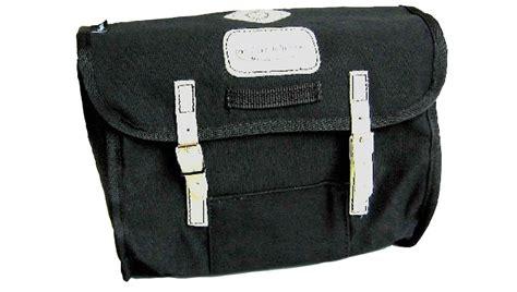 Carradice City Folder M Bag Black White Straps junior saddlebag used hq