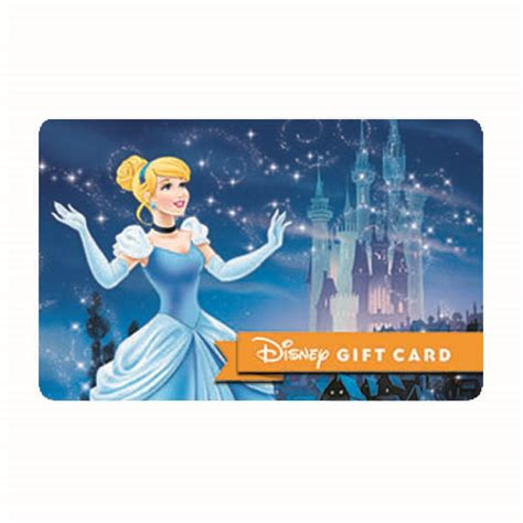 Big Gift Card - your wdw store disney collectible gift card dream big cinderella
