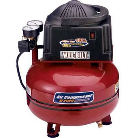 best buy on wel bilt electric portable air compressor