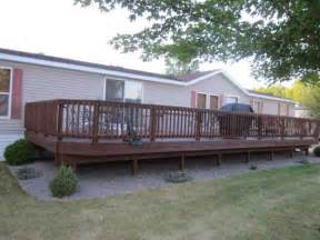 mobile home decks pictures of porches and decks for mobile homes