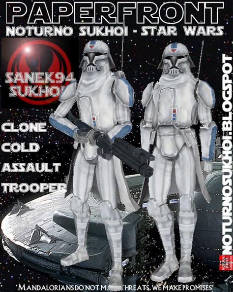star wars the cold 1405285486 papercraft