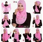 Cara Pakai Hijab Shawl With Tutorial  HijabiWorld