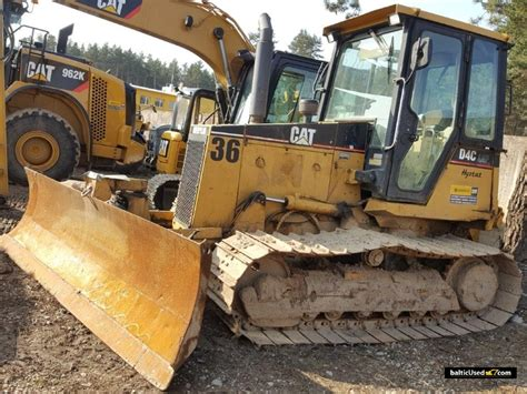 Bulldozer Cat D4c cat d4c lgp bulldozer from lithuania for sale at truck1