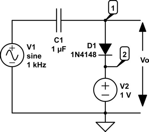 how does a capacitor circuit work capacitor how does this cler circuit work electrical engineering stack exchange
