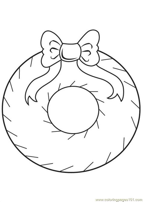 Tree Decorations Coloring Pages Decoration Coloring Pages