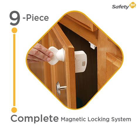 safety 1st cabinet locks magnetic safety 1st magnetic locking system 1 key and