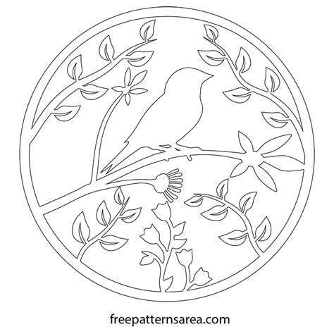 free scroll saw patterns ornaments bird ornament vector and scroll saw pattern