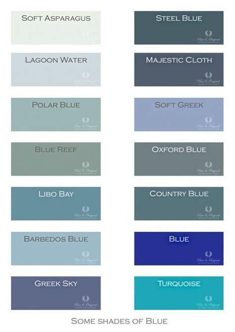 chalk paint kleuren een paar kleuren uit het totaal pureandoriginal