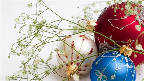 christmas ball ornaments hd desktop wallpaper