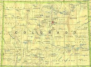 colorado state map cities colorado base map
