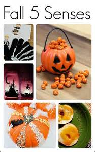 Halloween Monster Crafts - 15 five senses activities for fall fun