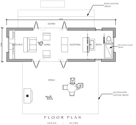 pool pavilion or guest house house plans