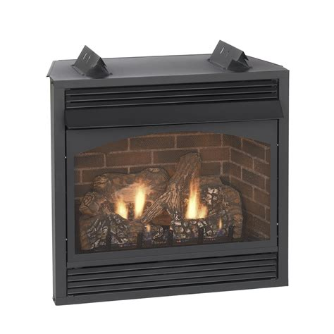 gas fireplace logs with blower empire vail premium vent free gas fireplace with