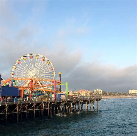 pier santa monica santa monica pier gen korean bbq a week in california