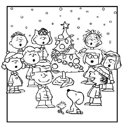 free printable charlie brown christmas coloring pages for kids best coloring pages for kids