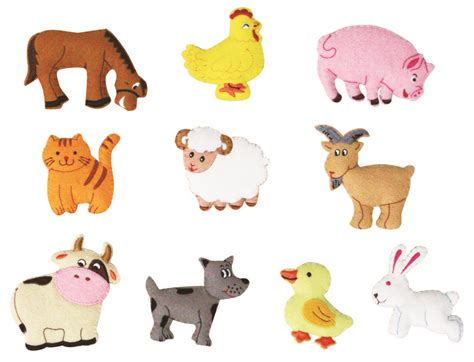 printable animal game pieces farm animals cut outs