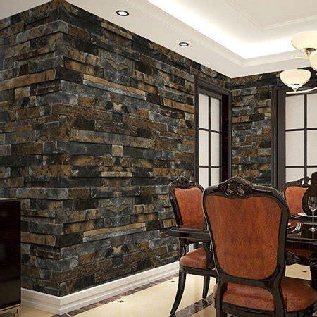 wallpaper for walls walmart 3d stick wallpaper stone brick wall paper smt walmart com