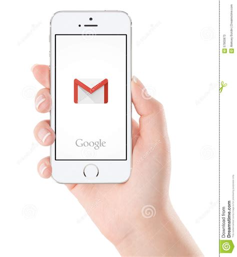 google gmail application logo  white apple iphone