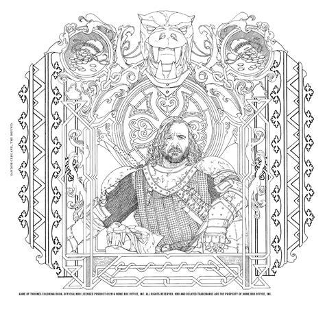 thrones colouring book images the official hbo s of thrones coloring book gets new