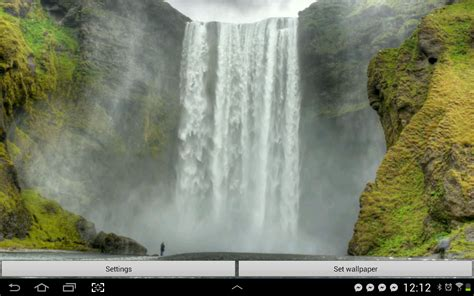 waterfall  wallpapers hd android apps  google play