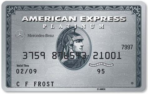 Mercedes Amex Platinum American Express And Mercedes Launch Two Co Brand