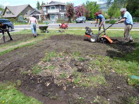 Grass Removal by Lawn Removal Program Ashland Oregon 187 Sacred Earth Design