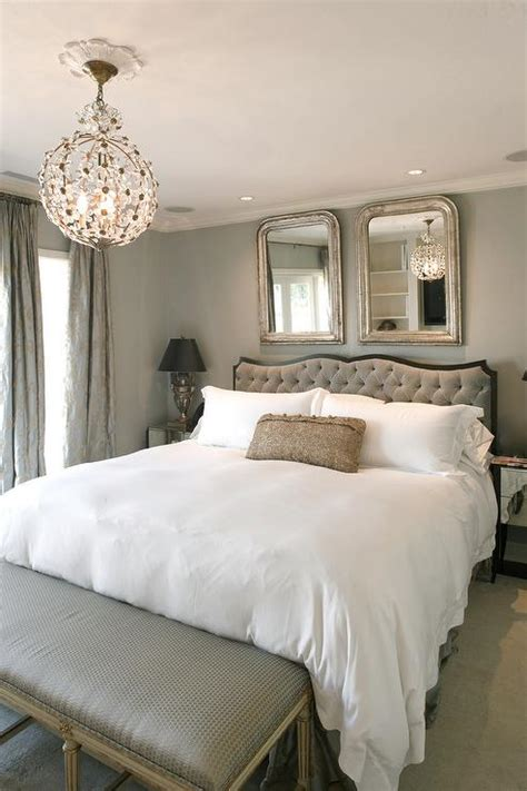 gray bedrooms traditional bedroom benjamin moore  moon crest hyde evans design