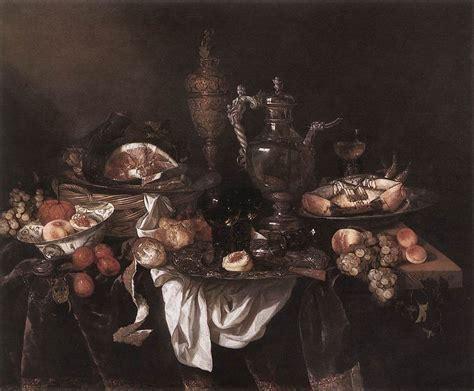 banquet still life by beyeren abraham van