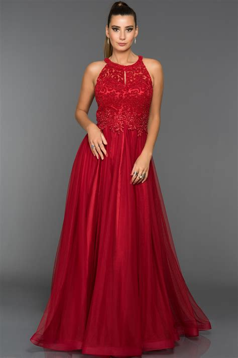 abiye elbise modelleri gece davet mezuniyet dn elbiseleri kırmızı t 252 ll 252 prenses abiye s4509 abiyefon com