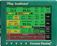 20 20 Planter Monitor by Infinity Ag Precision Planting Monitoring Cloud Solutions
