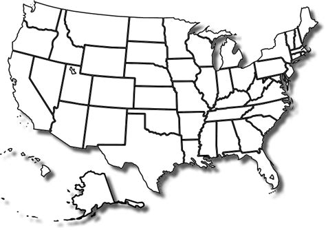 us map states and capitals blank blank map of the united states with capitals images
