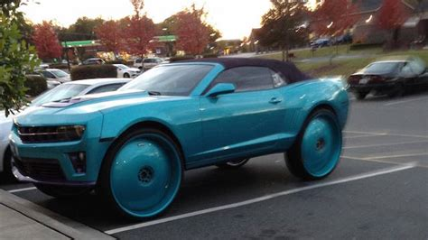 ugly car colors classy cars ruined when their owners made them absolutely
